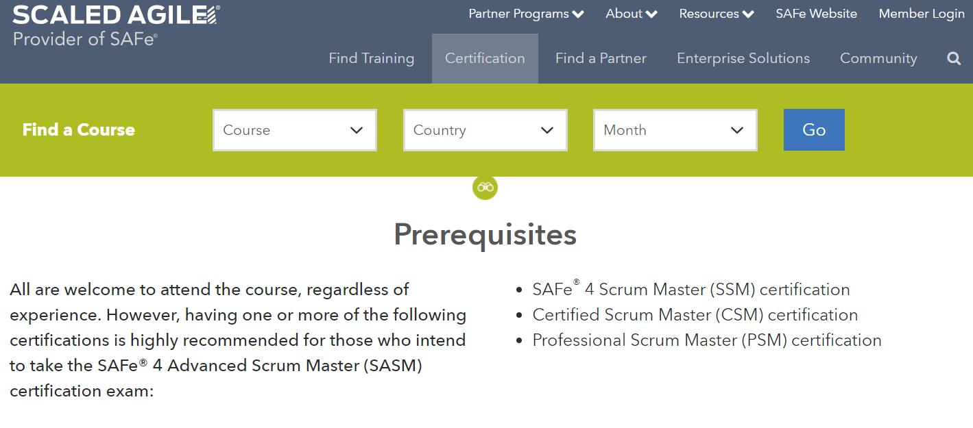 Que certificacin elegir como scrum master internet80 safe scrum master xflitez Image collections