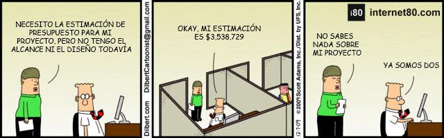 Cono de Incertidumbre Dilbert